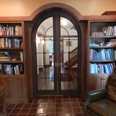 Traditional Home Office by Cheryl D & Company