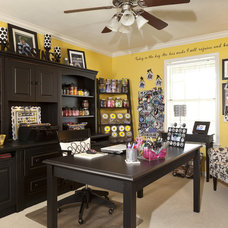 Traditional Home Office by Classically Yours Interiors (CYInteriors)