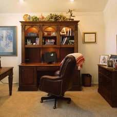 Traditional Home Office by Greg Logsdon