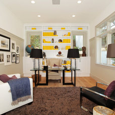 Eclectic Home Office by Core Development Group, Inc.