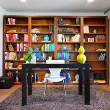 Contemporary Home Office by Shaw Coates