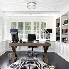 Traditional Home Office by D.A.S. Custom Builders