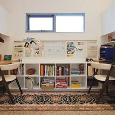 Contemporary Home Office by Kristie Paul