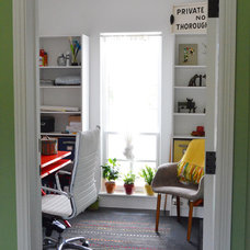 Eclectic Home Office by Amy Renea