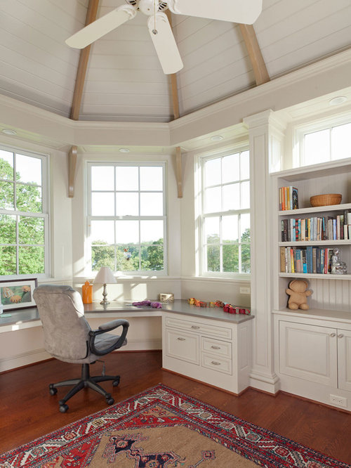 Bay Window Desk Home Design Ideas, Pictures, Remodel And Decor