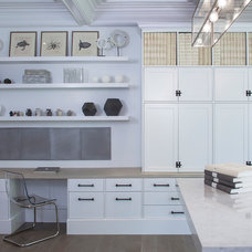 Contemporary Home Office by Mars Photo and Design