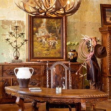 Eclectic Home Office by Rawhide Ranch Co