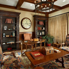 Traditional Home Office by Key Residential