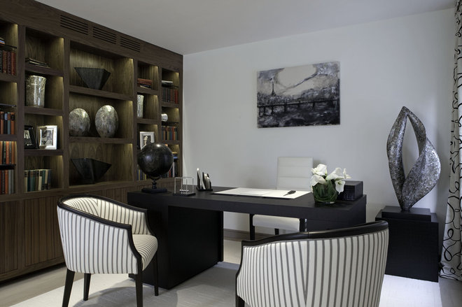 Contemporary Home Office by RBD Architecture and Interiors