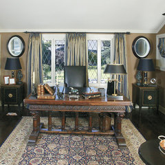 traditional home office by Reaume Construction & Design