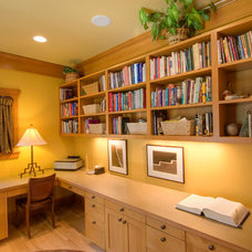 Craftsman Home Office by Copeland Architecture & Construction Inc