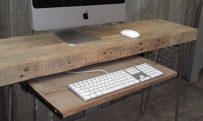 Modern Home Office by UrbanWood Goods