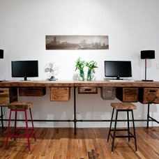 Contemporary Home Office by Urban Wood Goods