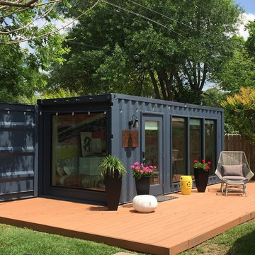 Recycle Container home