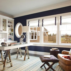 Traditional Home Office by BLISS HOME