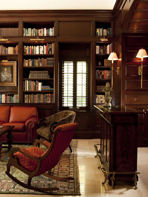 Wood Paneled Office: Wood Paneled Study Home Design Ideas, Pictures, Remodel
