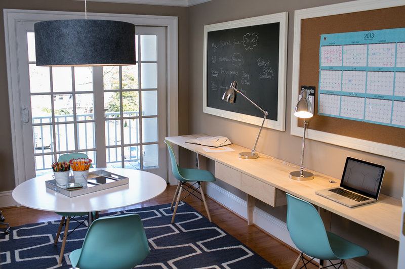 Contemporary Home Office by Residents Understood