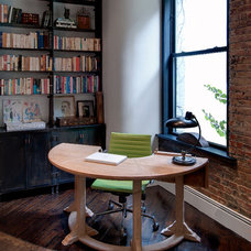 Industrial Home Office by Reiko Feng Shui Design