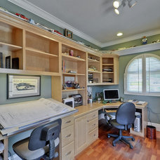 Traditional Home Office by Kip's Kustom Homes