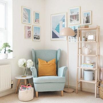 Rental Home Office Makeover