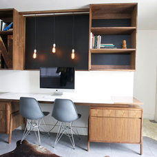 Contemporary Home Office by The Last Workshop