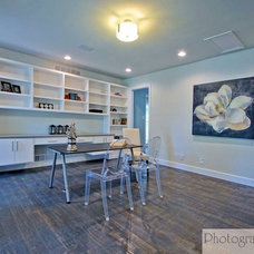 Contemporary Home Office by Photography4MLS  |  Real Estate