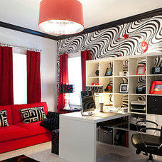 Modern Home Office by Interior Motives by Will Smith LLC