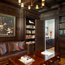 Traditional Home Office by Phil Kean Design Group
