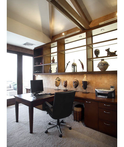 traditional home office by Richens Designs, Inc.