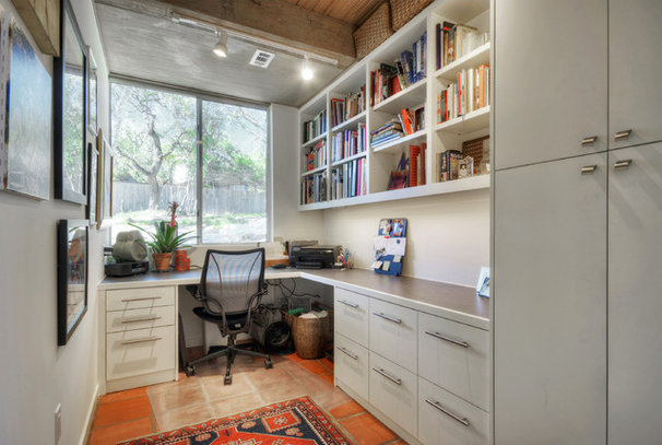 Contemporary Home Office by Studio 4C