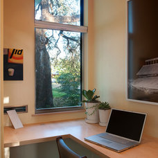 Contemporary Home Office by Studio 512