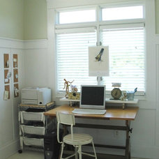 Eclectic Home Office by Home & Harmony