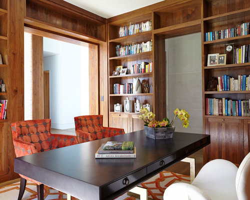 best contemporary home office design ideas remodel pictures houzz - Contemporary Home Office Design