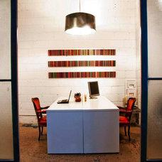 Modern Home Office by Barber Design Shop LTD