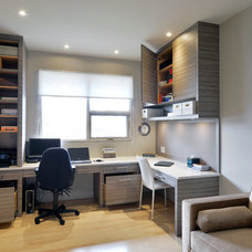 Modern Home Office by Studio S Interiors