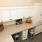 Craft Room Desk - Traditional - Home Office - Nashville - by More Space Place of Nashville