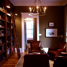 Traditional Home Office by RJ Elder Design