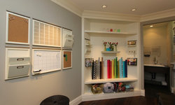 Robeson Design Craft Room, Gift Wrap Storage Solutions