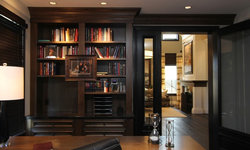 Robeson Design Handsome Mans Home Office Storage Solutions