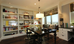 Robeson Design Home Office Built In Storage Solutions
