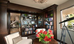 Robeson Design Storage Solutions with Built In book cases