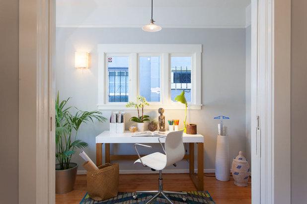 Classique Chic Bureau à domicile by Visual Jill Interior Decorating