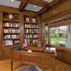 Traditional Home Office by Housetrends Magazine