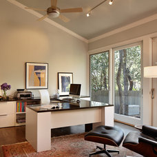 Modern Home Office by Susie Johnson Interior Design, Inc.