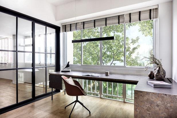 Modern Arbeitszimmer by DISTINCTidENTITY Pte Ltd