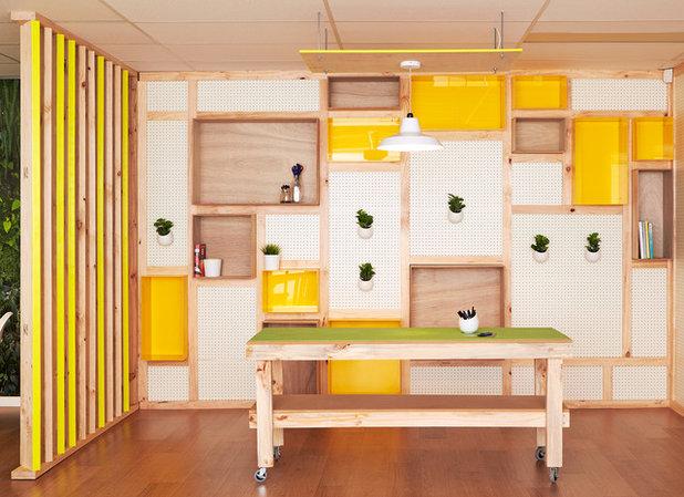 Modern Arbeitszimmer by TomMarkHenry