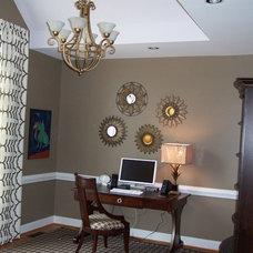 Home Office by Ben Dial/ Stedman House Richmond, VA.