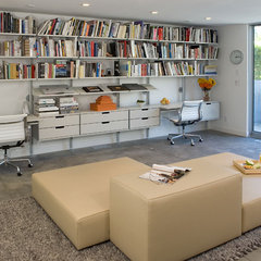 modern home office by Dean Nota Architect