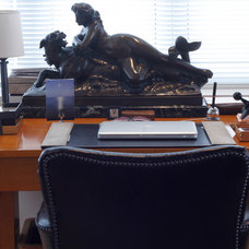 Eclectic Home Office by Esther Hershcovich