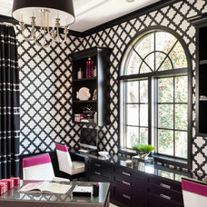 Transitional Home Office by Marilee Bentz Designs, Inc.